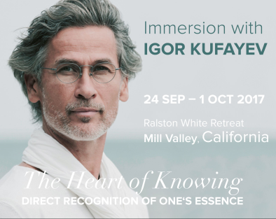 The Heart of Knowing, September 24th 5:00PM, 2017